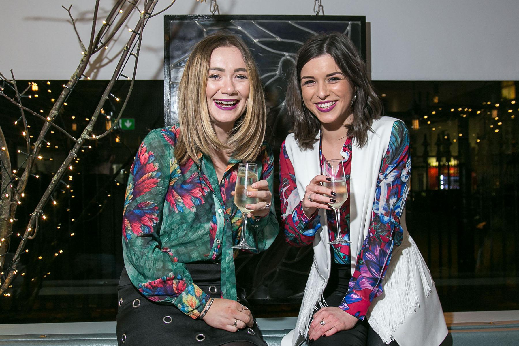 Laura McLaughlin & Ciara Gavin, both of Willow, Mainguard St