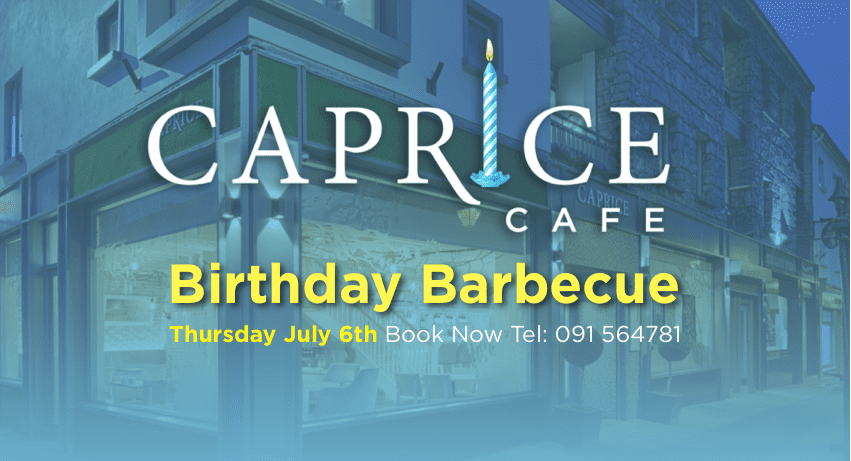 Caprice Cafe 1st Birthday
